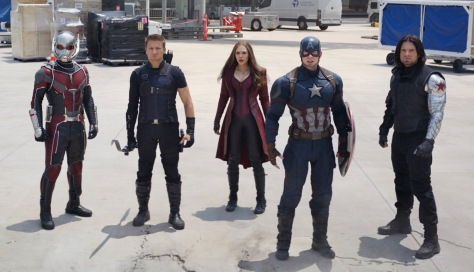Captain Amerika:εμφύλιος πόλεμος