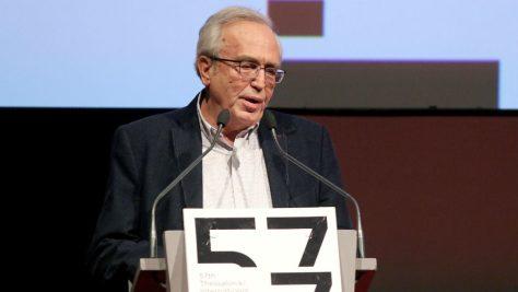 Ο υπουργός Πολιτισμού, κ. Αριστείδης Μπαλτάς, κηρύσσει την έναρξη του 57ου Φεστιβάλ Κινηματογράφου Θεσσαλονίκης